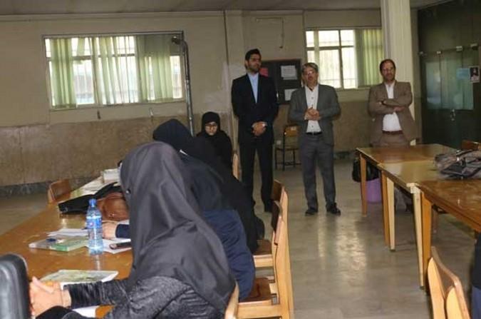 بازدید اعضای شورای اسلامی شهرقدس از کتابخانه حضرت باقرالعلوم(ع)