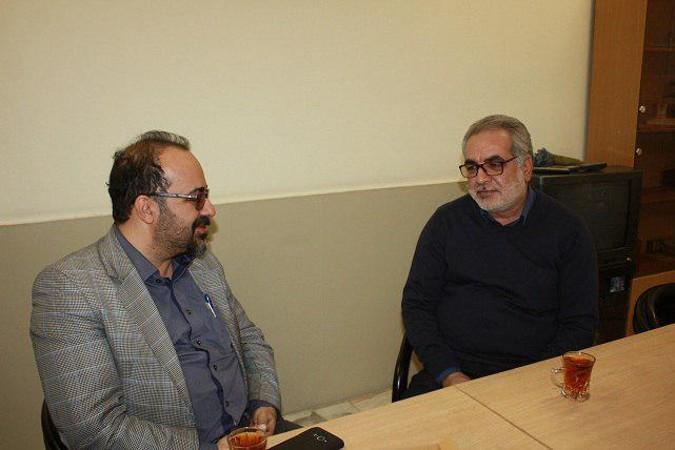 دیدار و گفتگو با رئیس نهاد کتابخانه های عمومی شهرستان شهریار