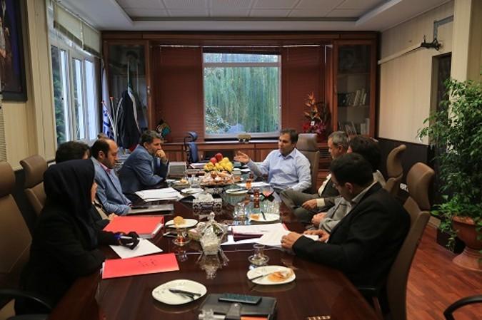 جلسه هیات عالی سرمایه گذاری شهرداری شهریار برگزار گردید
