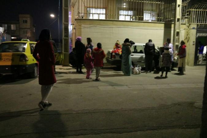 زلزله دیشب  روستای رامین شهریار