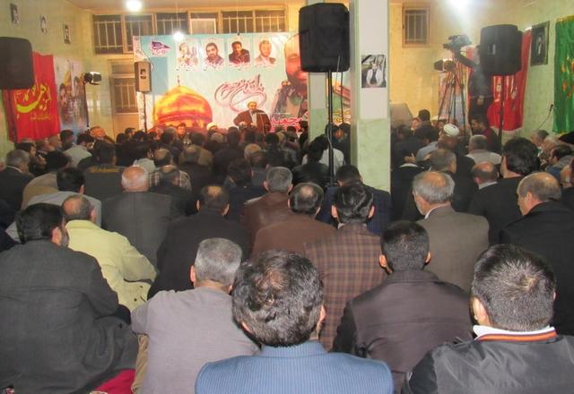 مراسم دومین سالگرد شهید مدافع حرم محمد آژند برگزار شد