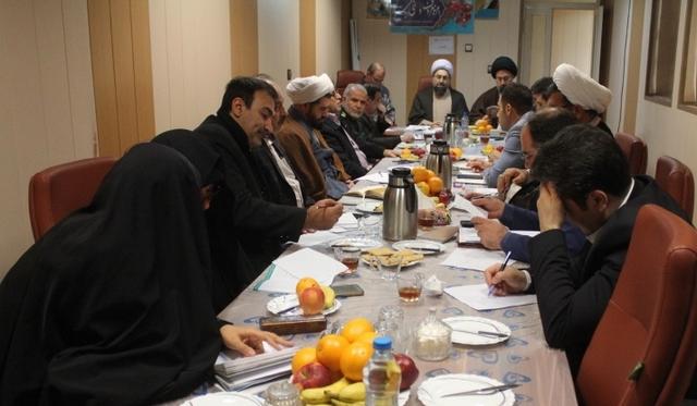 جلسه تخصصی ستاد احیاء امر به معروف ونهی از منکر برگزار شد