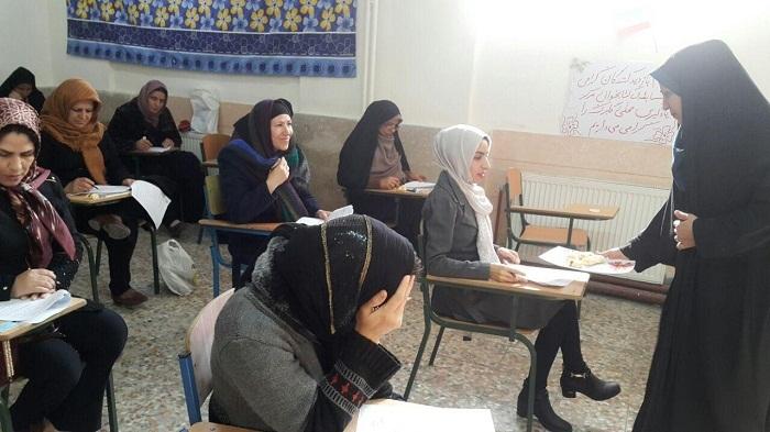 مسابقه کتابخوانی باموضوع اقتصاد مقاومتی بین فراگیران سوادآموزی شهریار