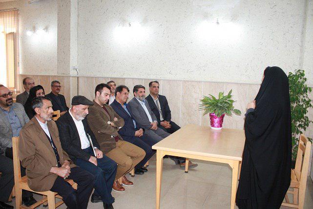 برگزاری مراسم کتابخانه گردی در کتابخانه ثامن الائمه فاز دو اندیشه شهریار