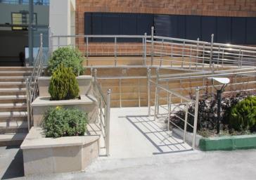 ساختمان فرمانداری ملارد ییشرو در مناسب سازی برای معلولین و سالمندان