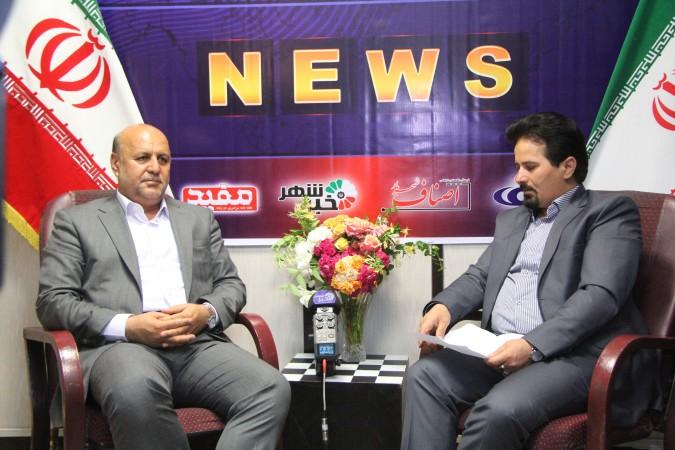 گزارش تصویری بازدید نورالله طاهری فرماندار شهرستان شهریار از دفتر مرکزی خبر شهر