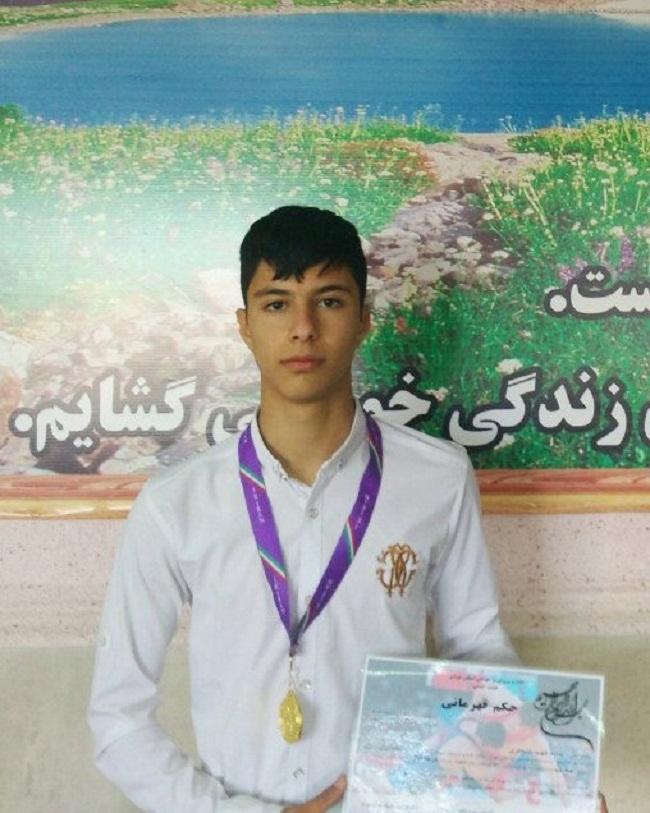 کسب مقام اول مسابقات کشتی استان تهران توسط دانش آموزش شهریاری