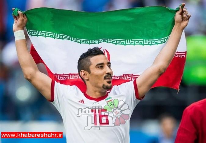 قوچاننژاد از بازیهای ملی خداحافظی کرد