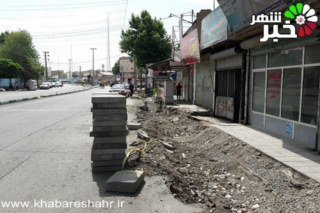 گوشه ای از اقدامات عمرانی وخدماتی شهرداری منطقه دو امیریه