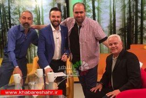 """میزبانی شبکه 2 از """"علی پروین"""""""
