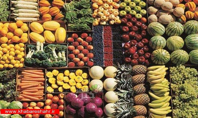 ذخیره ۷۰ هزار تن سیب و پرتقال برای شب عید