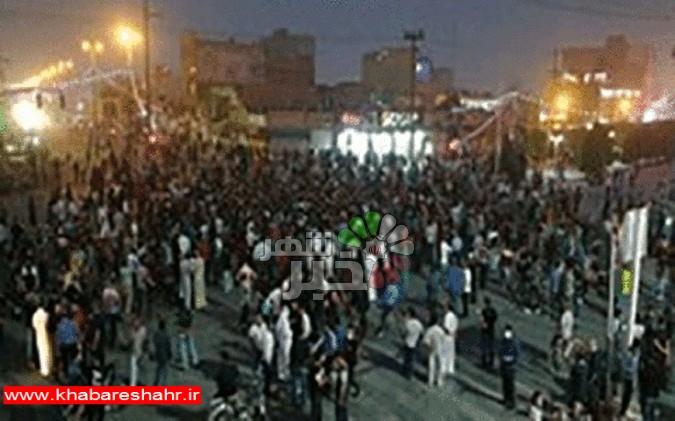 تخریب اموال عمومی و بخشی از پل جدید خرمشهر