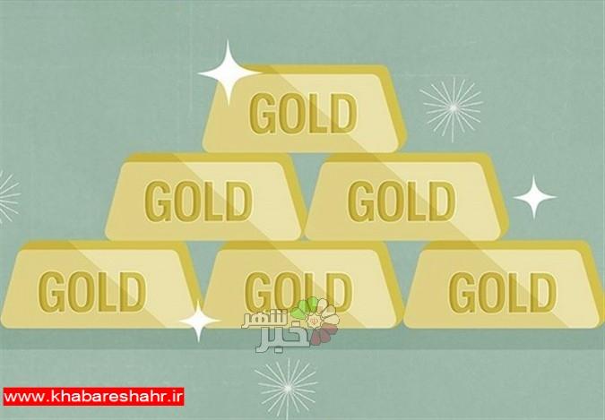 قیمت جهانی طلا امروز ۱۳۹۷/۰۴/۱۴