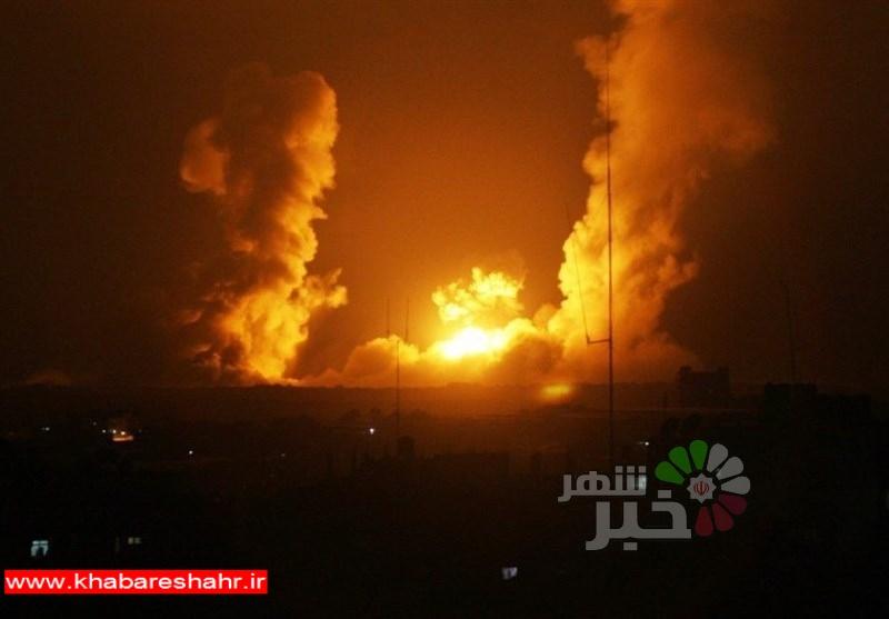 حمله موشکی رژیمصهیونیستی به شرق غزه/ پاسخ موشکی مقاومت به صهیونیستها