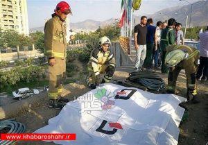 ۳ کشته و ۳ زخمی حاصل برخورد پژو ۲۰۶ با کارگران در اتوبان بابایی