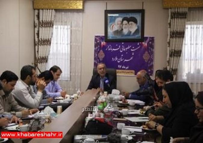 نشست مطبوعاتی فرماندار شهرستان ملارد