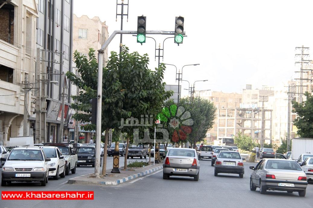 تجهیز معابر و تقاطعهای سطح شهرستان قدس به دوربینهای ترافیکی