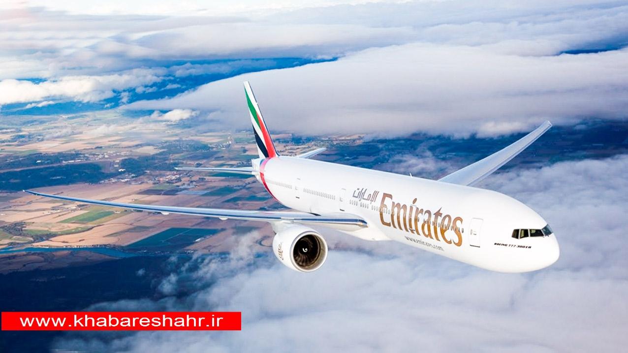 بزرگترین هواپیمای مسافربری جهان در آسمانها