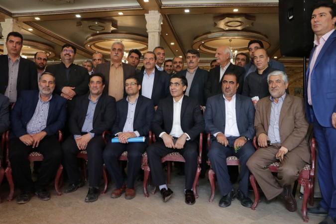 گزارش تصویری از همایش روسای ادارت صنعت ، معدن و تجارت و اتاقهای اصناف شهرستانهای استان تهران