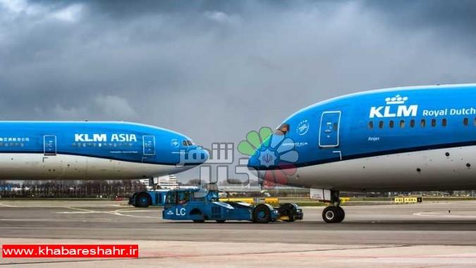 هواپیمایی هلندی به دلیل مشکلات مالی از آسمان ایران می رود