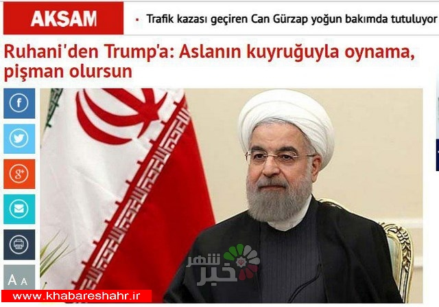 ایران، پاسخی قاطع به تهدید مقامات آمریکا داد