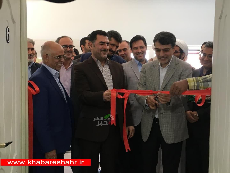 افتتاح کتابخانه درمرکز نگهداری ازمعتادین ماده 16 اخوان درشهرستان ملارد