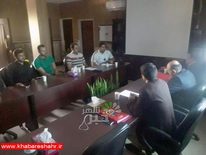 جلسه ایجاد سرانه های ورزشی در شهر فردوسیه برگزار شد