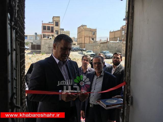 افتتاح شلتربانوان به مناسبت هفته بهزیستی درشهرستان ملارد