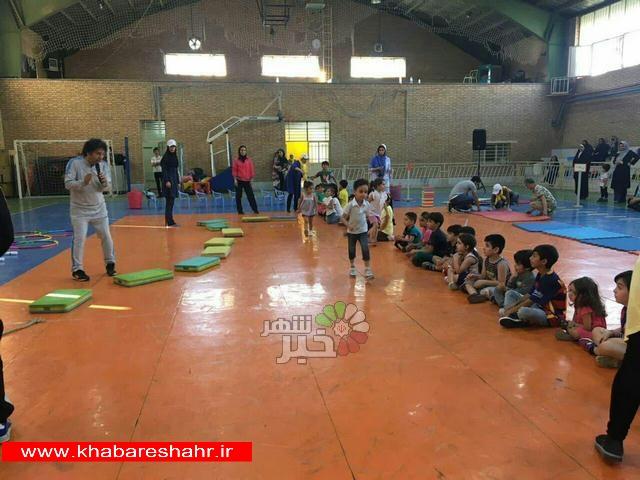نخستین جشنواره بازی های کودکان (مینی المپیک) در شهرستان شهریار  برگزار شد
