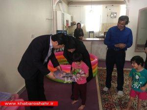 بازدید از مرکز نگهداری دخترانه صالح به مناسبت روز دختر در شهرستان ملارد
