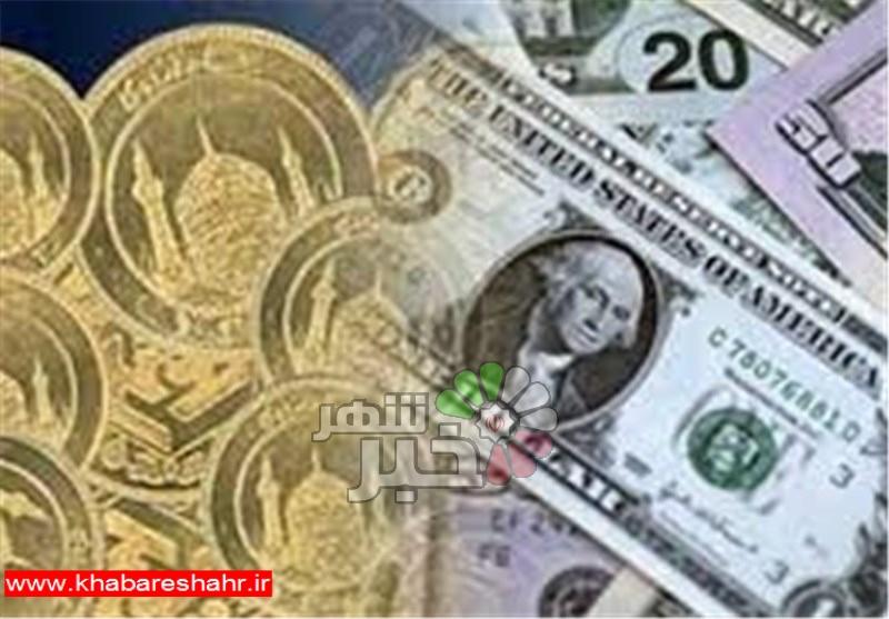 قیمت طلا، قیمت دلار، قیمت سکه و قیمت ارز امروز ۹۷/۰۶/۰۳