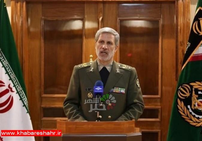 واکنش وزیر دفاع به پیشنهاد ترامپ برای مذاکره مستقیم با ایران