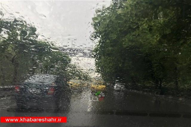 احتمال بارشهای رگباری در برخی مناطق
