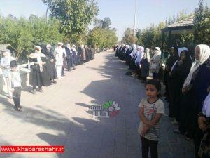 برگزاری ورزش همگانی در باغ پارک امیرکبیر در شهرک امیریه با حضور مسئولین شهرستانی و شهری + تصاویر