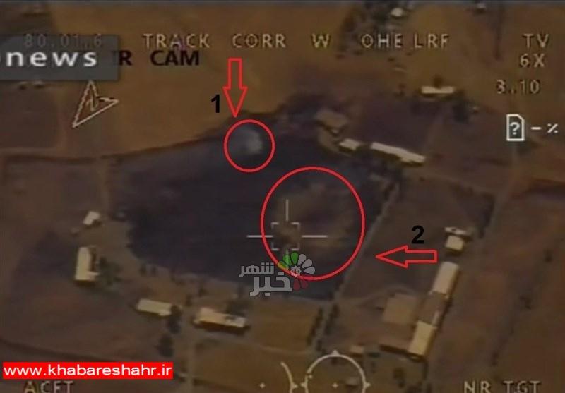 مستندات اصابت موشکهای سپاه به مواضع تروریستهای حدکا + عکس و فیلم