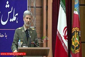 سفر وزیر دفاع به شهرستان شهریار