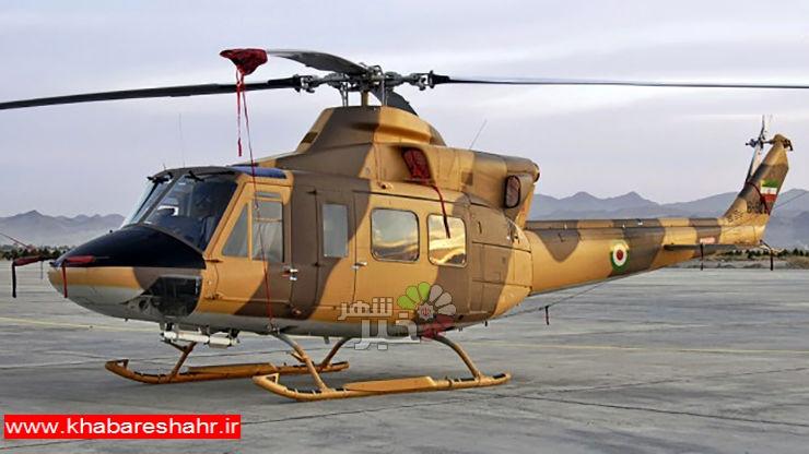 سقوط یک بالگرد ارتش در ملارد