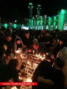 هم اکنون شام غریبان در آستان مقدس امام زاده اسماعیل (ع) شهریار