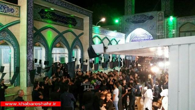 شام غریبان هیئت امام حسین (ع) مسجد المهدی ابراهیم آباد – آستان مقدس امازاده اسماعیل