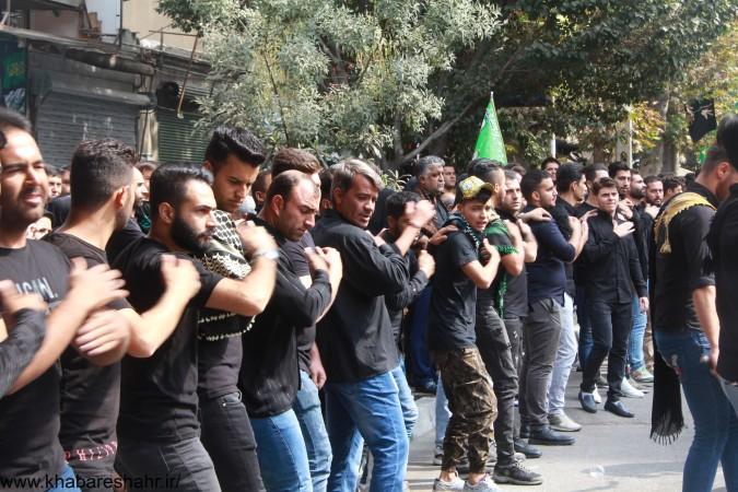 گزارش تصویری از مردم شهریار در روز تاسوعای حسینی – مقابل امام زاده اسماعیل (ع)شهریار