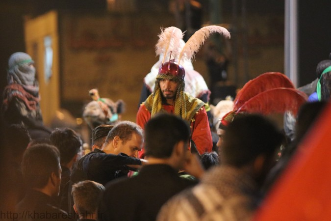 گزارش تصویری از مراسم عصر عاشورا فردوسیه شهریار (بخش 3)