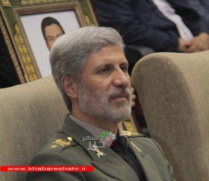تحریمها از دیدگاه امیر سرتیپ حاتمی وزیر دفاع و پشتیبانی نیروهای مسلح