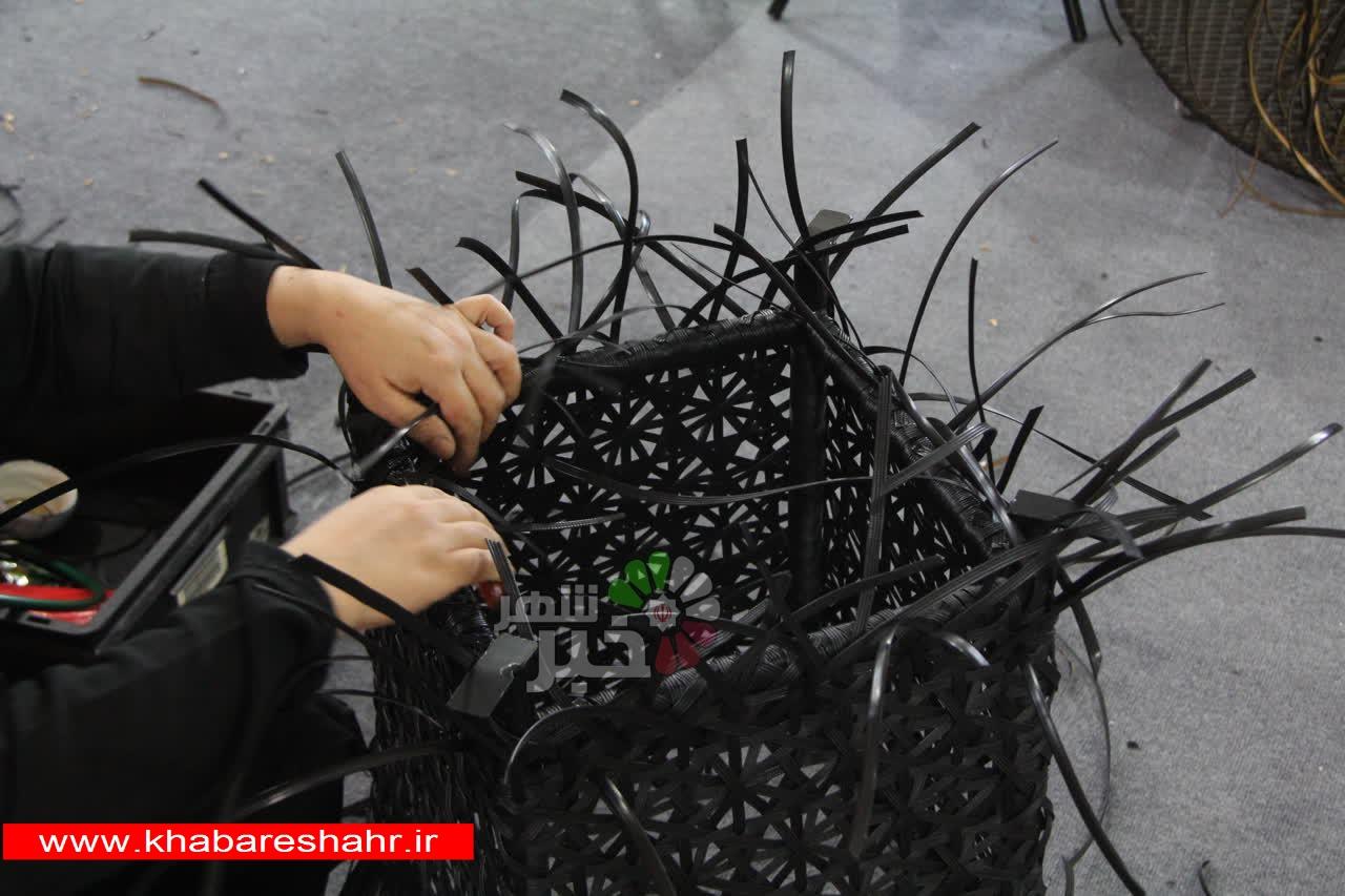 بازدید معاون مدیر کل صنایع دستی اداره کل استان تهران از کارگاه های صنایع دستی شهرستان شهریار