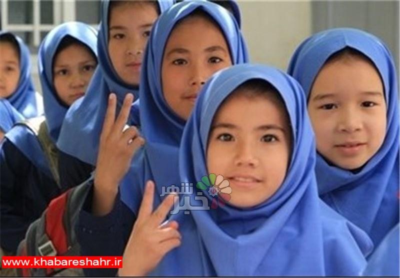 10 درصد از دانش آموزان شهرستانهای استان تهران اتباع هستند