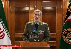 وزیر دفاع: راهزنی دریایی توسط ما بیپاسخ نخواهد ماند