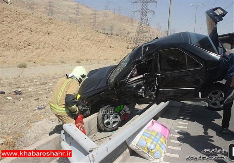 تصادفات در غرب استان تهران ۱۹ درصد کاهش یافت