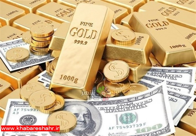 قیمت طلا، قیمت دلار، قیمت سکه و قیمت ارز امروز ۹۷/۰۷/۱۵