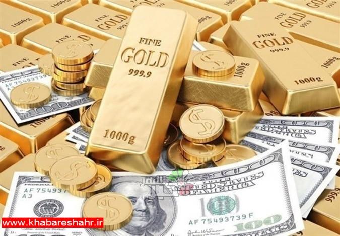 قیمت طلا، قیمت سکه و قیمت ارز امروز ۹۷/۰۸/۲۰