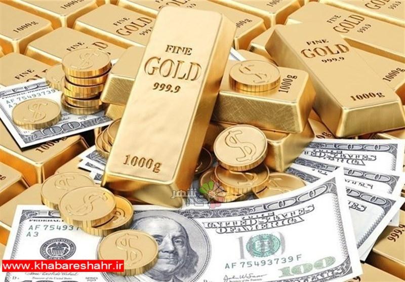 قیمت طلا، قیمت سکه و قیمت ارز امروز ۹۷/۱۲/۰۸