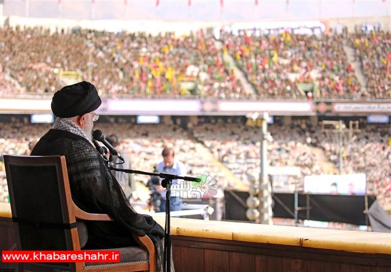 اجمالی/ امام خامنهای در ورزشگاه آزادی: تحریم را شکست خواهیم داد/ آمریکا از انقلاب اسلامی سیلی خورده است